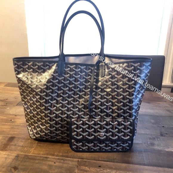 cheap price get new detailed pictures Goyard Bags | Soldauthentic St Louis Tote Pm Black | Poshmark